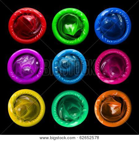 Colorful Condoms