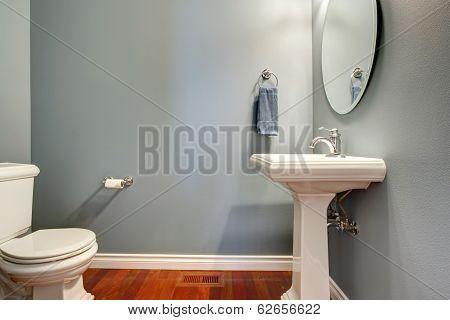 Simple Grey Bathroom