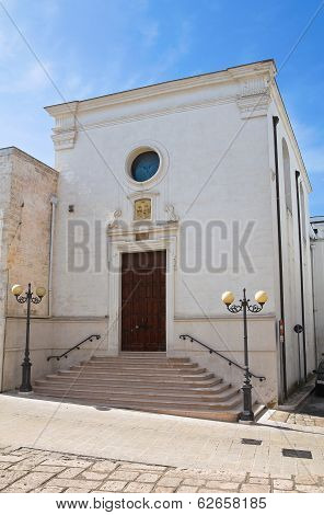 Church of St. Martino. Ginosa. Puglia. Italy.