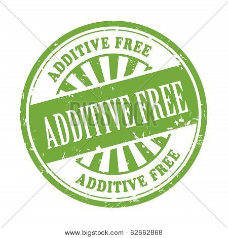 Additive Free Grunge Rubber Stamp