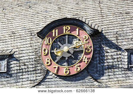 Old Exterior Clock