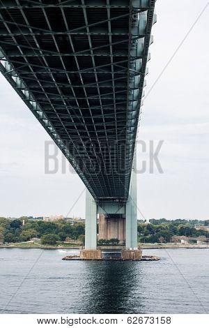 Verazzano Bridge From Below