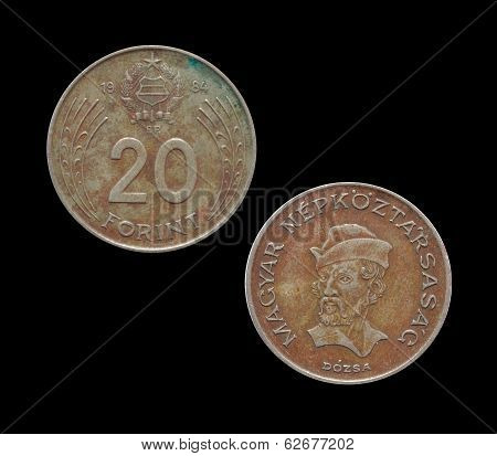 Hungary 20 forint coin 1984