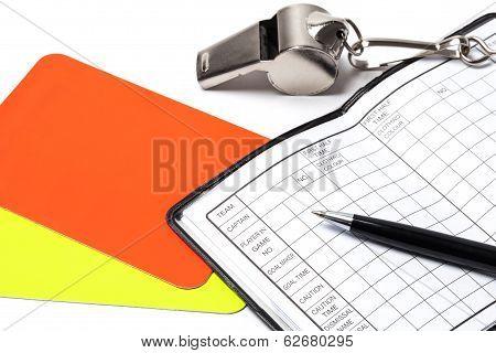 Referee Accessories - Stock Photo