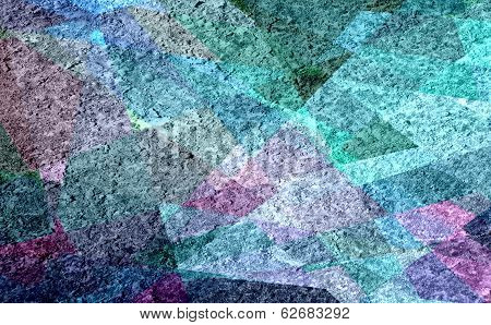 colored cubism grunge texture