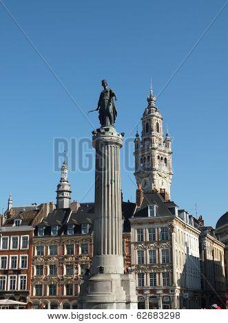 The Column of the Goddess,  Lille, France