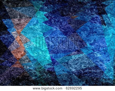 colored mosaic cubism grunge background