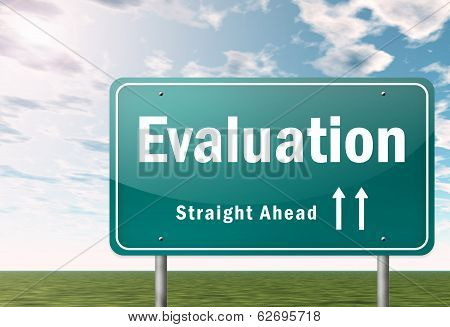Highway Signpost Evaluation