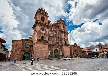 Church Temple Of The Company Of Jesus Of Cuzco