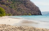 foto of papagayo  - Scenic view of the beach along the Golfo de Papagayo in Guanacaste Costa Rica - JPG