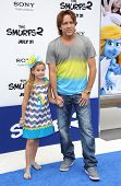 LOS ANGELES - JUL 28:  Larry Birkhead & Dannielynn Marshall arrives to the