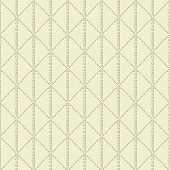 Beige Quilted Seamless Pattern Background