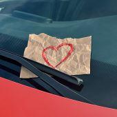image of wiper  - love ticket  - JPG