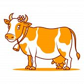 pic of moo-cow  - Illustration - JPG