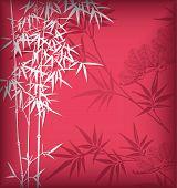 Постер, плакат: Бамбук фон
