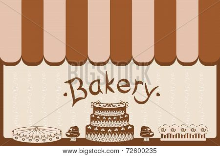 bakery window shop