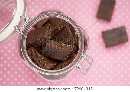 Healthy Brownies In A Jar