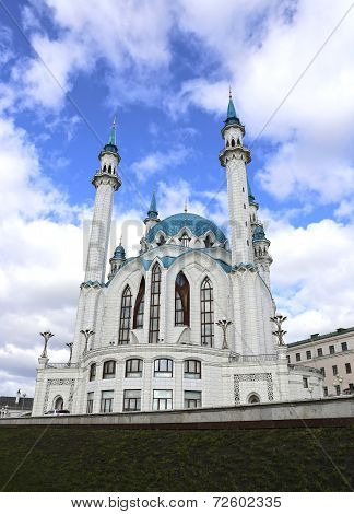 Kul-sharif Mosque In Kazan Kremlin