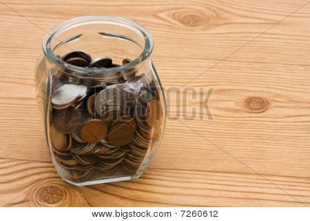 Saving Money In Your Change Jar