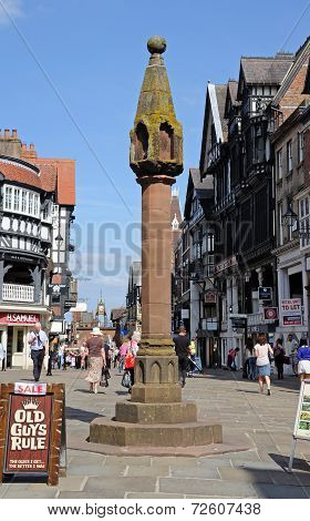 The High Cross, Chester.