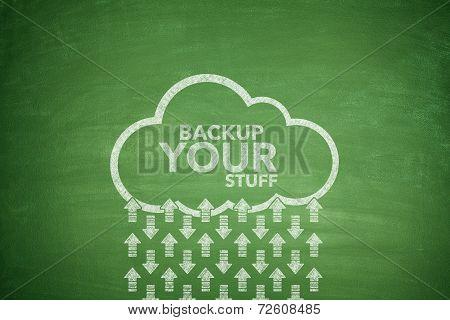 Backup your stuff on Blackboard