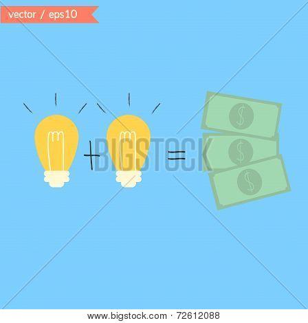 Change Ideas To Money.