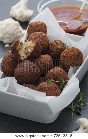 Cauliflower Falafel
