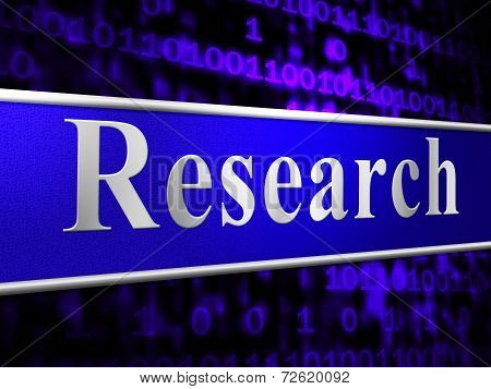 Online Research Indicates World Wide Web And Analyse