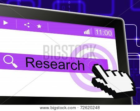 Online Research Means World Wide Web And Analyse