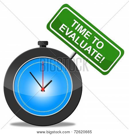 Time To Evaluate Means Assess Assessing And Calculate