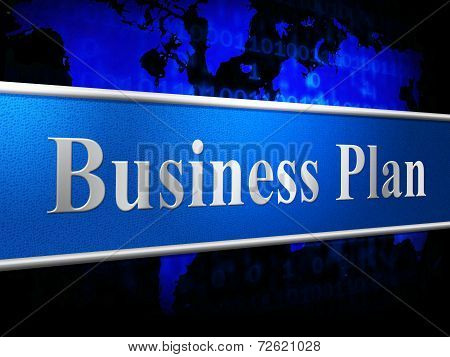 Business Plan Means Idea Commerce And Stratagem