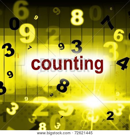 Mathematics Numbers Represents One Two Three And Numerals