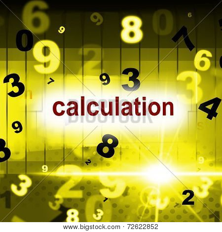 Counting Mathematics Indicates One Two Three And Arithmetic