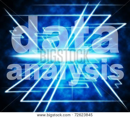Data Analysis Shows Analyzing Bytes And Facts