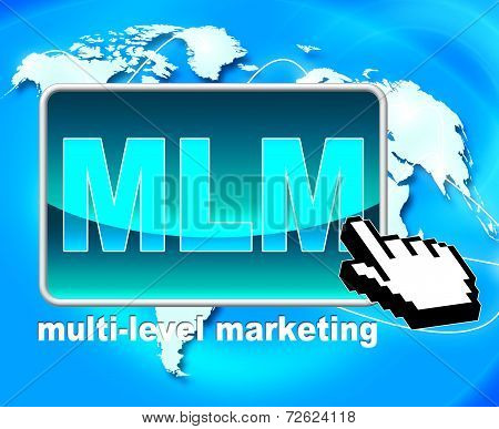 Multi Level Marketing Represents Web Site And Www
