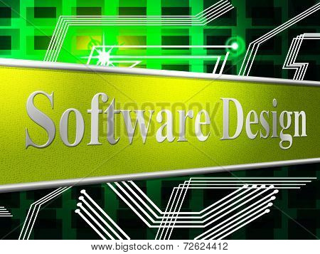 Designs Design Shows Diagram Model And Software