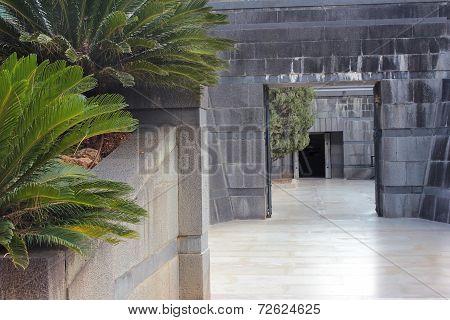 Rothschild Family Tomb In Ramat Hanadiv, Israel