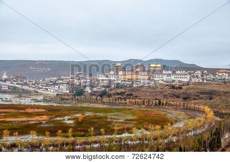Tibetan Monastery.