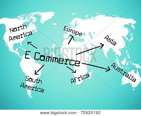 World E Commerce Shows Company Globalize And Selling