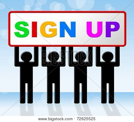 Sign Up Indicates Subscribe Subscribing And Apply