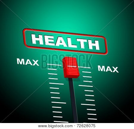 Health Max Represents Upper Limit And Ceiling