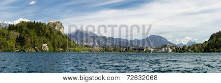 Panorama Of Bled Lake