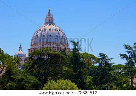 Vatican city cupola