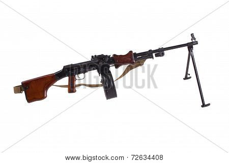 Machinegun Isolated