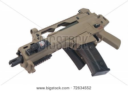 German Army Assault Rifle G36.