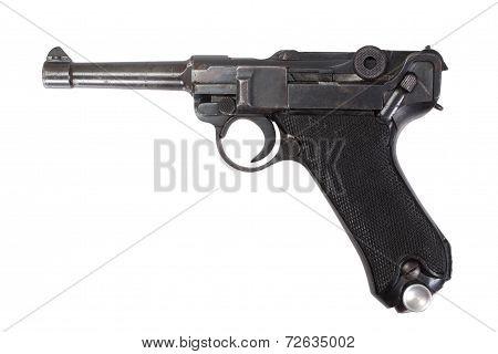 Parabellum Handgun Isolated