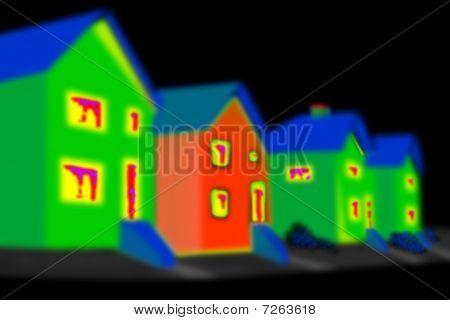 Thermografie Haus E
