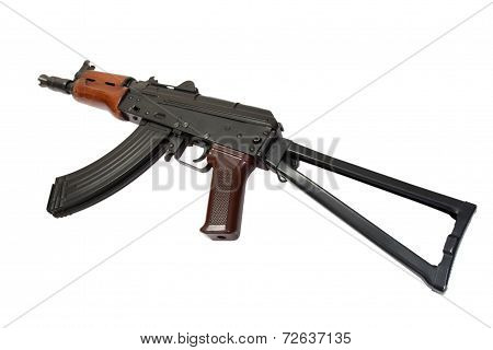 Ak Spetsnaz Isolated On A White Background