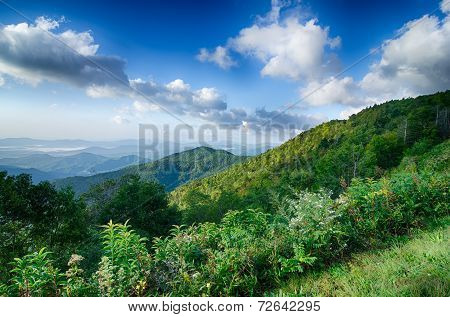 Blue Ridge Mountains Scenic Overlook