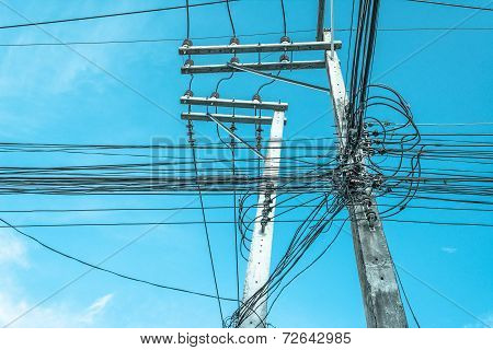 Image Of Electric Pole